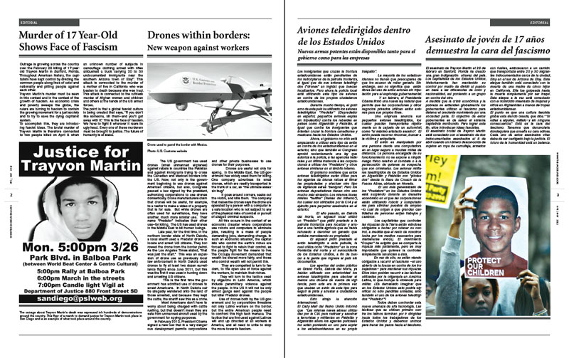Tribuno Del Pueblo - April May 2012 - Pages 2 & 3