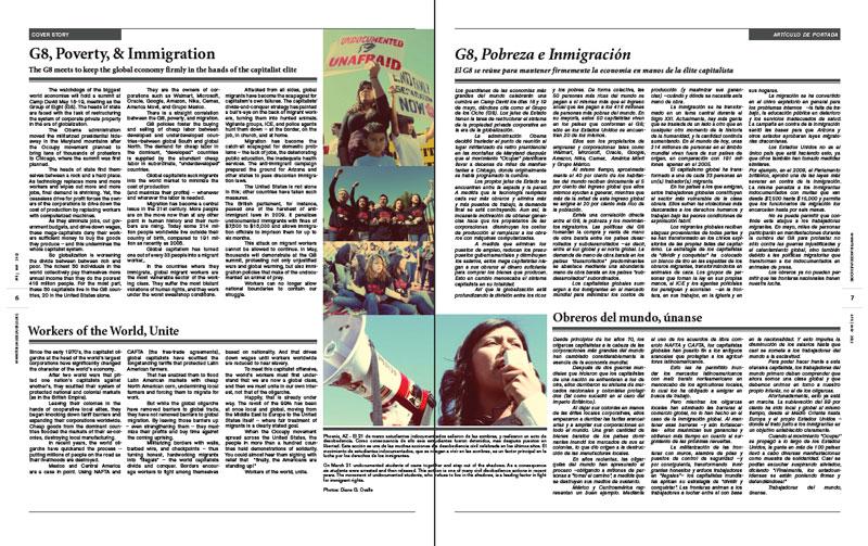 Tribuno Del Pueblo - April May 2012 - Pages 6 & 7