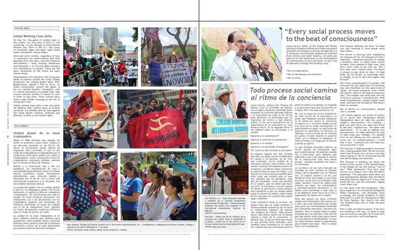Tribuno Del Pueblo - July / August 2013 - Pages 8 & 9