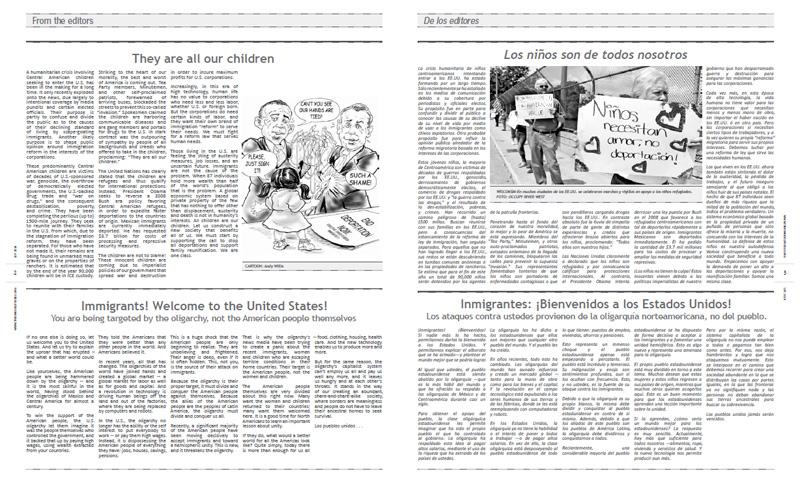 Tribuno Del Pueblo - September 2014 - Pages 2 & 3