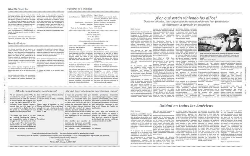 Tribuno Del Pueblo - September 2014 - Pages 4 & 5