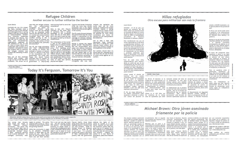 Tribuno Del Pueblo - September 2014 - Pages 8 & 9