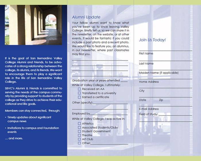 Alumi and Friends Brochure - Inside