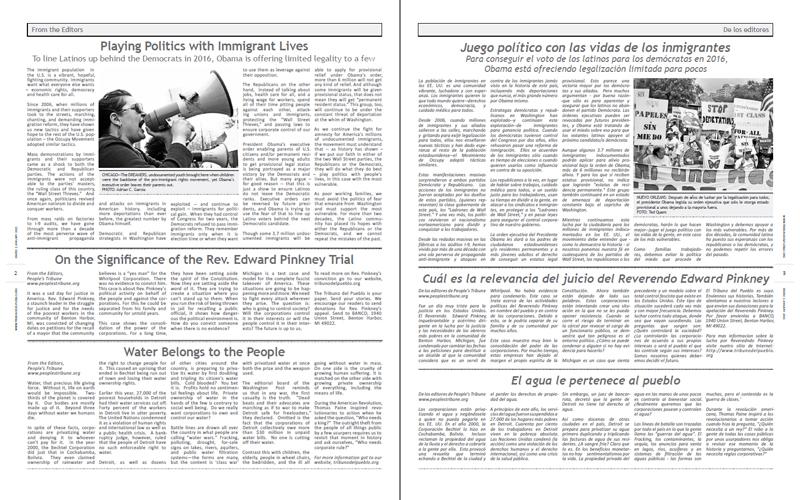 Tribuno Del Pueblo - January 2015 - Pages 2 & 3