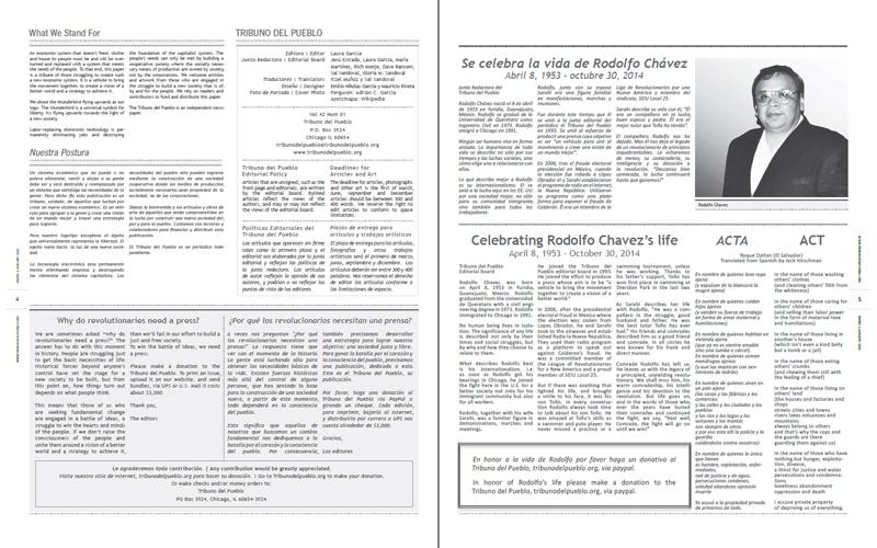 Tribuno Del Pueblo - January 2015 - Pages 4 & 5