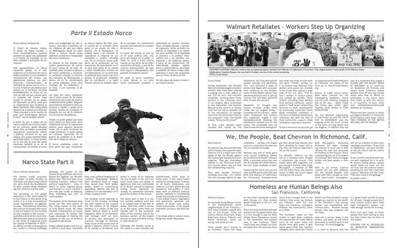 Tribuno Del Pueblo - January 2015 - Pages 8 & 9