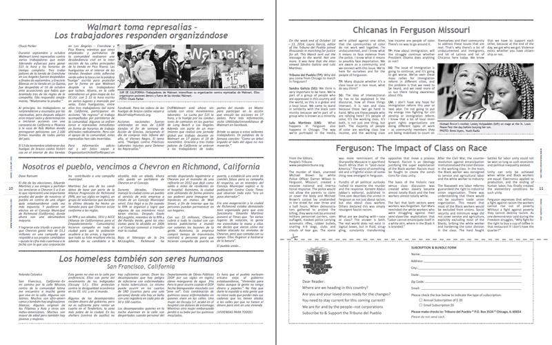 Tribuno Del Pueblo - January 2015 - Pages 10 & 11