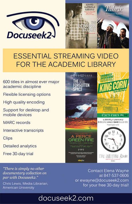 Docuseek2 ad for The Collective conference booklet