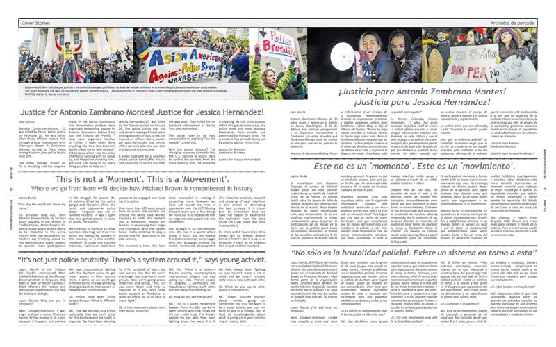 Tribuno Del Pueblo - March 2015 - Pages 6 & 7
