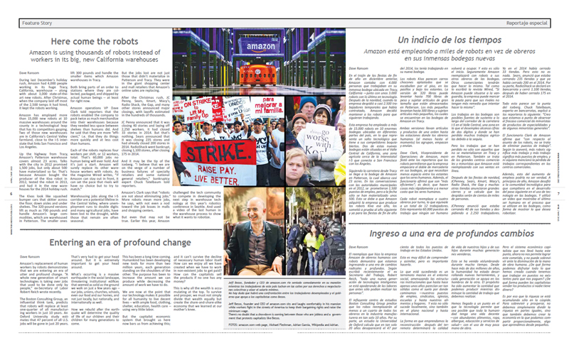 Tribuno Del Pueblo - April May 2015 - Pages 6 & 7