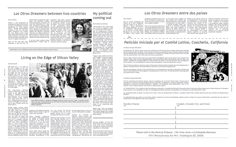 Tribuno Del Pueblo - April May 2015 - Pages 8 & 9