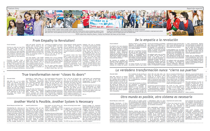 Tribuno Del Pueblo - June July 2015 - Pages 6 & 7