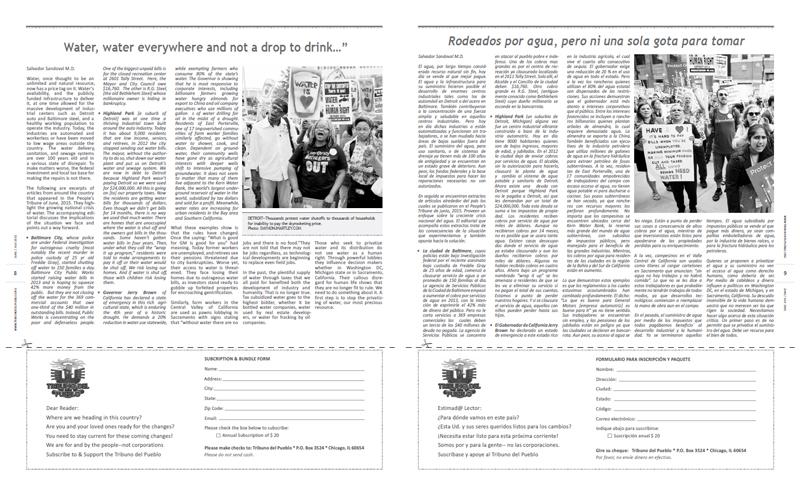 Tribuno Del Pueblo - June July 2015 - Pages 8 & 9
