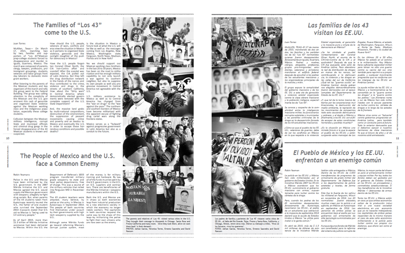 Tribuno Del Pueblo - June July 2015 - Pages 10 & 11