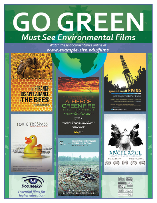 Docuseek2 Environmental Films Flier