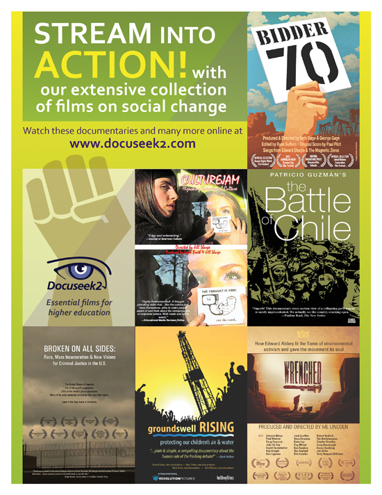 Docuseek2 Social Justice Flier