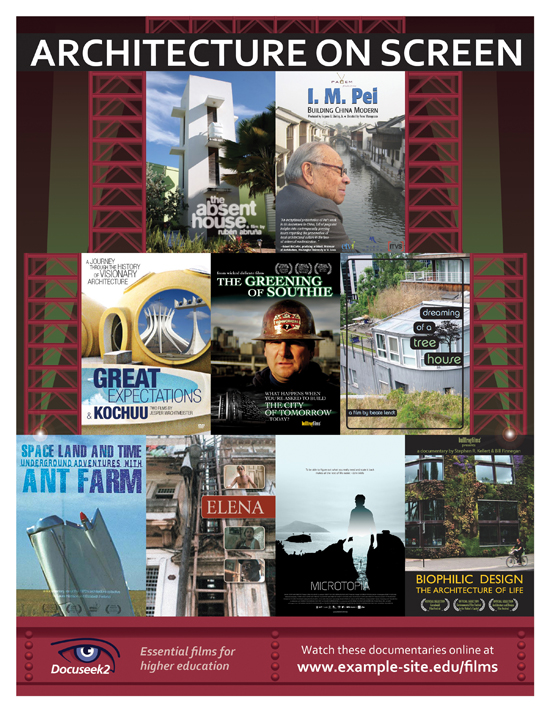 Docuseek2 Architecture Films Flier