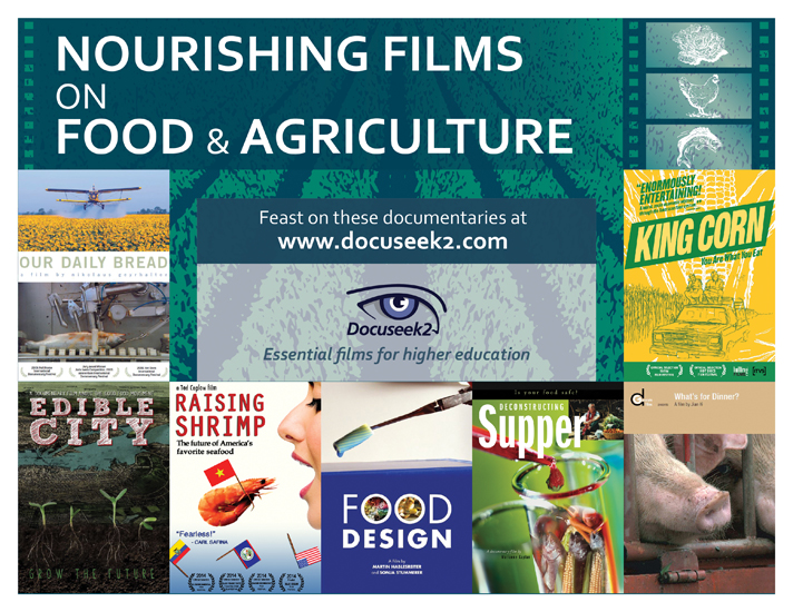 Docuseek2 Food and Agriculture Films Flier