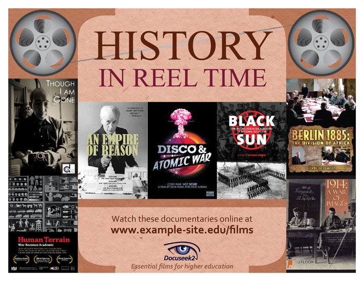 Docuseek2 History Films Flier