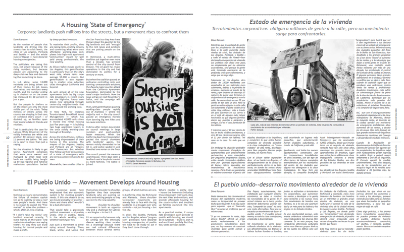 Tribuno Del Pueblo - February March 2016  - Pages 10 & 11