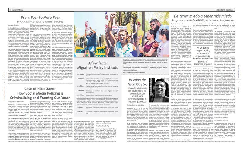 Tribuno Del Pueblo – July August 2016  - Pages 6 & 7