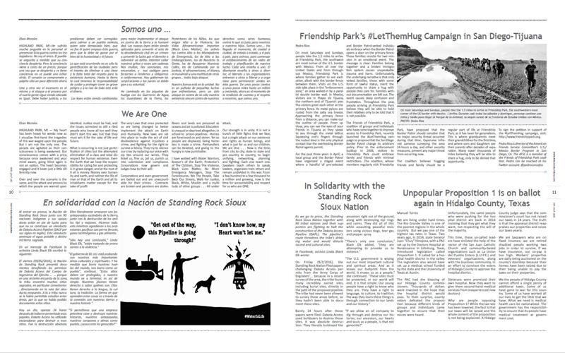 Tribuno Del Pueblo – September October 2016  - Pages 10 & 11