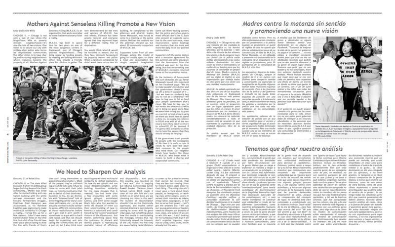 Tribuno Del Pueblo – September October 2016  - Pages 4 & 5
