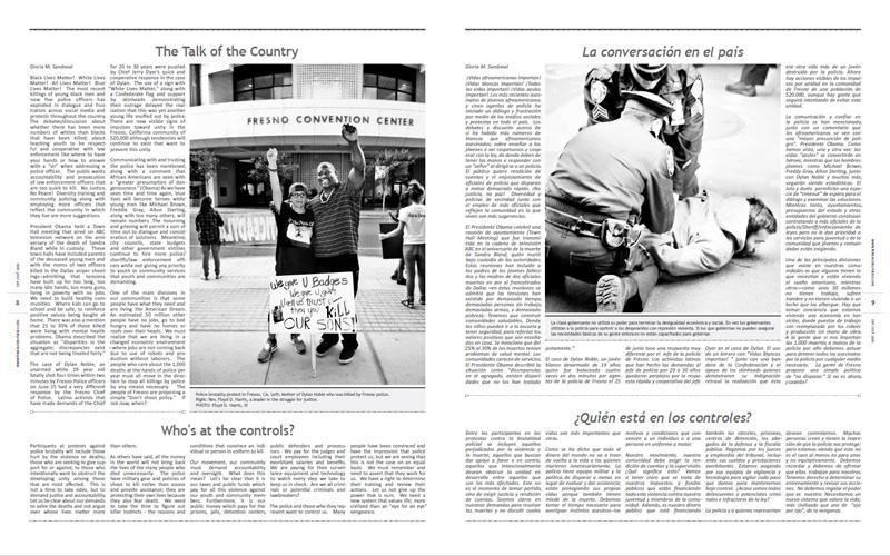 Tribuno Del Pueblo – September October 2016  - Pages 8 & 9
