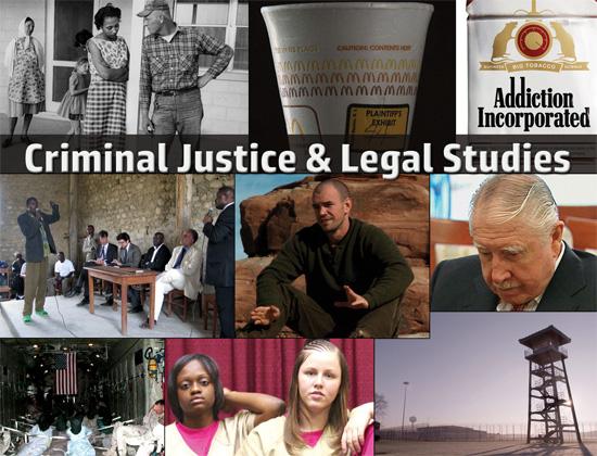 Docuseek 2 Postcard for Criminal Justice and Legal Studies