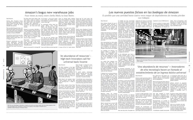 Tribuno Del Pueblo – March April 2017  - pages 10 and 11