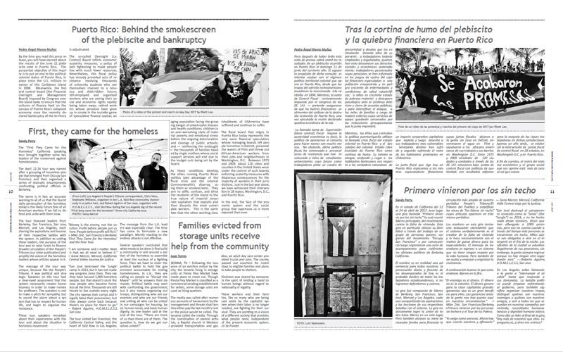 Tribuno Del Pueblo – July 2017 - pages 10 and 11
