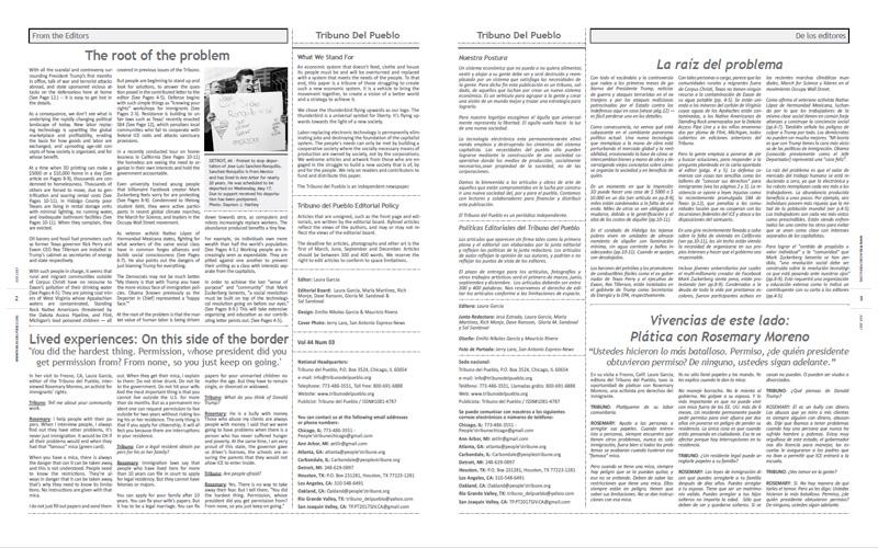 Tribuno Del Pueblo – July 2017 - pages 2 and 3