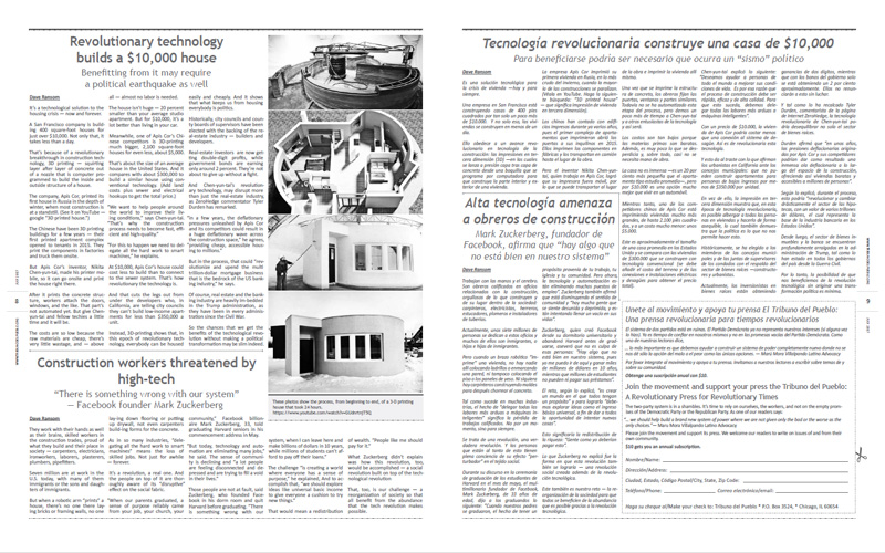 Tribuno Del Pueblo – July 2017 - pages 8 and 9