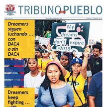 Tribuno Del Pueblo – November December 2017 - Cover
