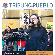 Tribuno Del Pueblo February March 2018 cover thumbnail