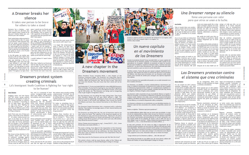 Tribuno Del Pueblo February March 2018 - pages 8 and 9