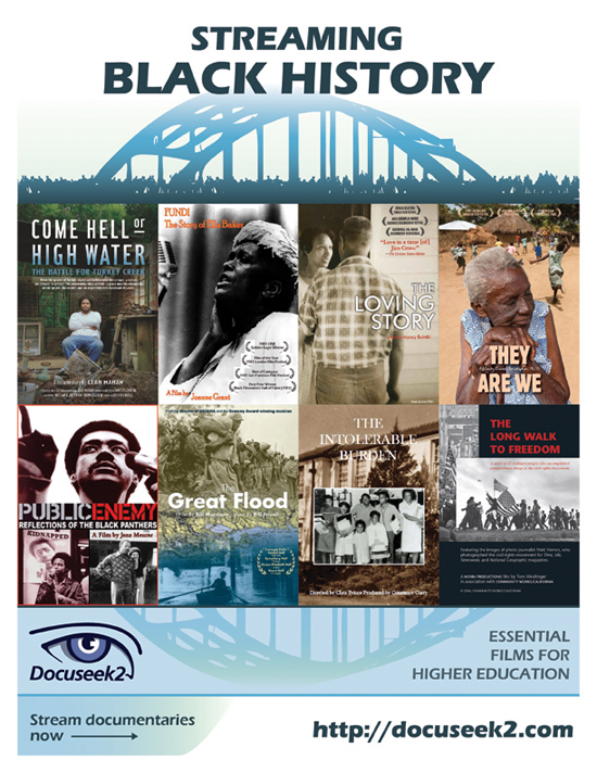 Docuseek2 Black History Flyer