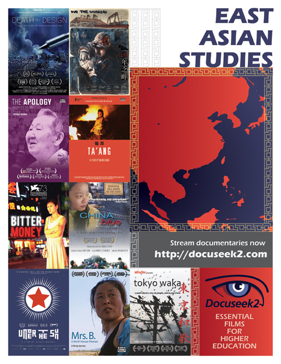 Docuseek2 East Asian Studies Flyer