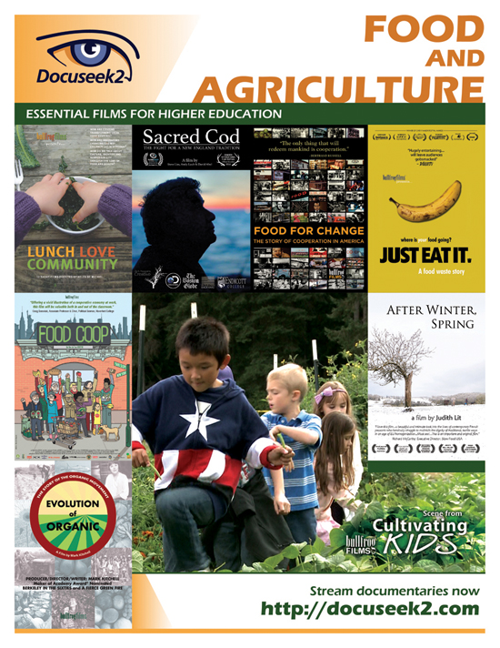 Docuseek2 Food and Agriculture Flyer