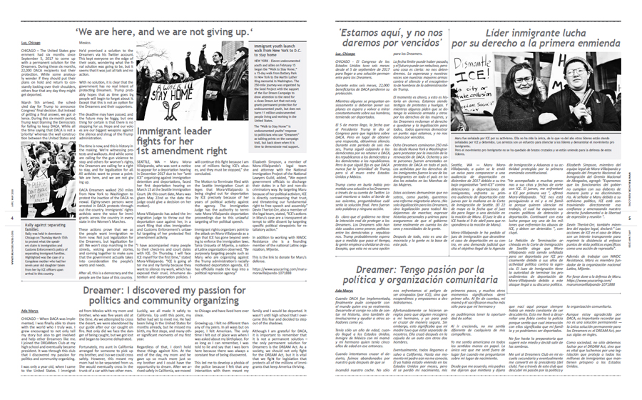 Tribuno Del Pueblo April May 2018 - pages 4 and 5