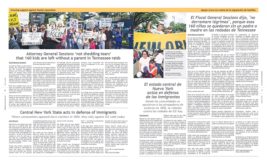 Tribuno Del Pueblo June July 2018 - pages 6 and 7