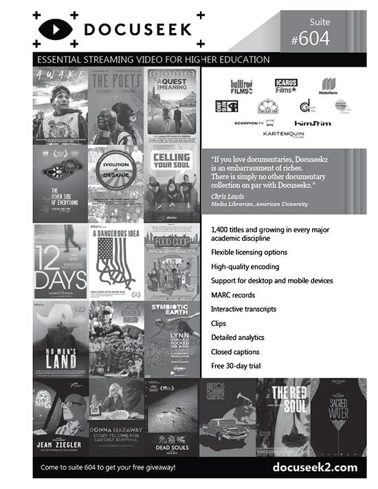 Docuseek National Media Market Ad 2018