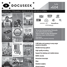 Docuseek National Media Market Ad 2018