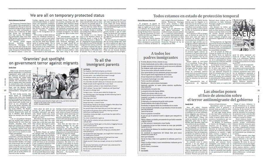 Tribuno Del Pueblo September October 2018 - pages 10 and 11