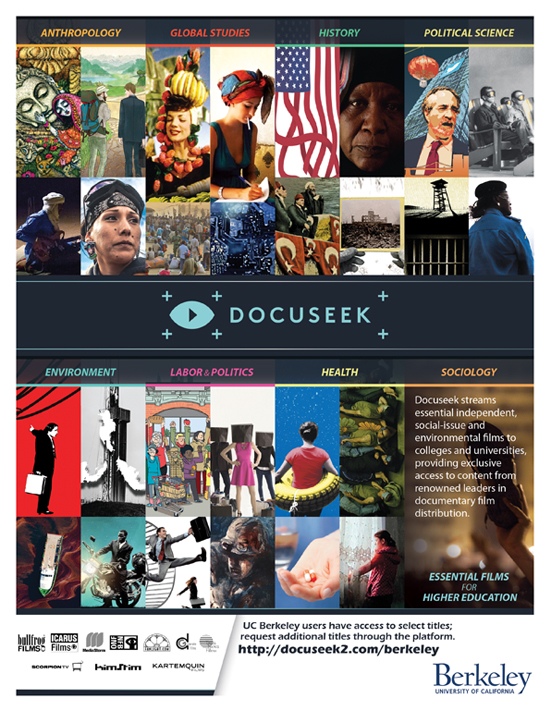 Docuseek All Topics Flyer for Universities