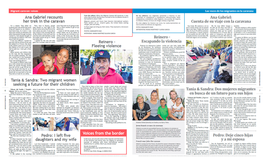 Tribuno Del Pueblo February March 2019 - pages 6 and 7
