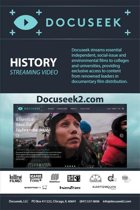 Docuseek History Booklet cover