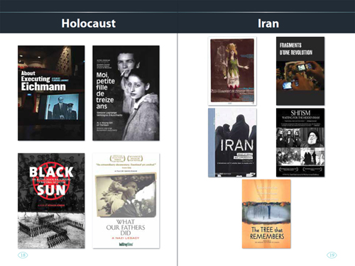 Docuseek History Booklet pages 18 and 19