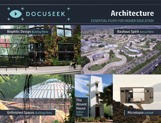Docuseek Promotional Postcard for Architecture