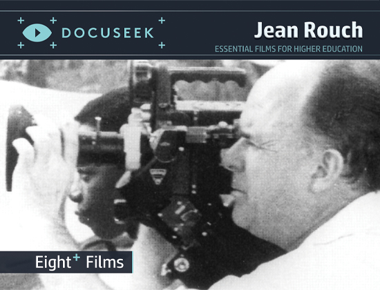 Docuseek Promotional Postcard for Jean Rouch
